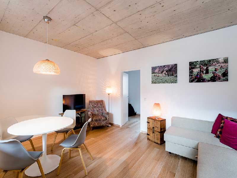 Apartment 5 livingroom Fleischerei Hinterstoder